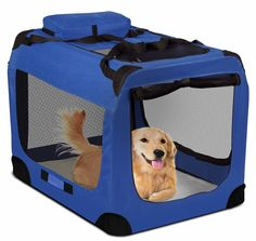 Lightweight Soft Sided Dog Pet Crate Portable Foldable Soft House Removable Pet Carrier Lightweight Collapsible Carrier ** Hurry! Check out this great product : Dog house