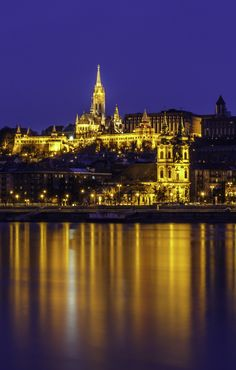 Blue hour in Budapest | Flickr - Photo Sharing!