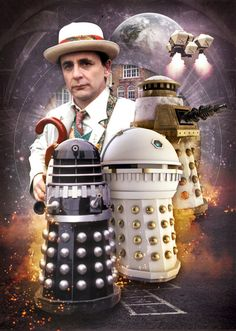 Doctor Who Sylvester McCoy Remembrance of the by TheZeroRoom