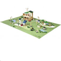 Create A Green City with Plan Toys Eco Town Organic Baby Toys, Plan Toys, Green Gifts, Wood Toys, Classic Toys, Pretend Play, Role Play, Building Toys, Healthy Kids