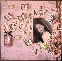 Couture Creations: Alpha Layout by Adriana Bolzon