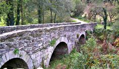 Puente de Salida de Sarria hacia Portomarín