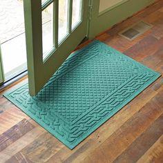 """Bungalow Flooring Aqua Shield Acropolis Doormat Color: Medium Brown, Rug Size: 24"""" x 36"""""""