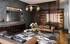 Modern Living Room Ideas: 6 Ways to Modernise Your Space Add-modern-lighting