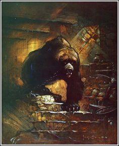 Frank Frazetta ~ Edgar Rice Burroughs ~ The Ace Covers