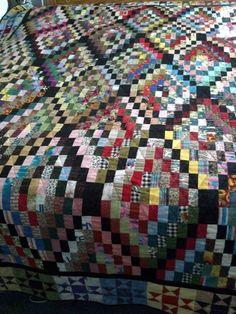 Rectangle Wrangle, Bonnie Hunter's pattern