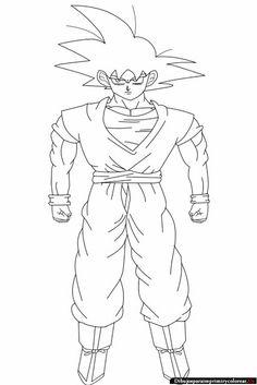 Dibujos de Dragon Ball GT para