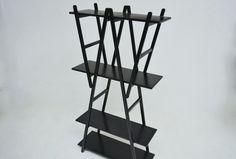 Bookshelves mod. Nuvola Rossa- designer Vico Magistretti-production Cassina-1977