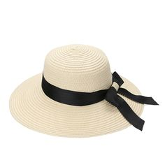 602ead847e2 New Straw Hat Fashion Summer Hats for Women 2017 Wide Brim Floppy Beach Sun  Cap Summer