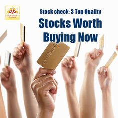 For an investor looking for top quality stocks to invest in, here are some stocks that are worth a try. These stocks have strong fundamentals & good potential. ..read more http://goo.gl/9Wyk4s