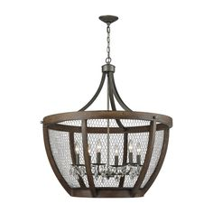 ELK-HOME-1140-033 Elk Lighting, Rustic Lighting, Chandelier Lighting, Basket Lighting, Cabin Lighting, Pendant Chandelier, Interior Lighting, Outdoor Lighting, Farmhouse Chandelier