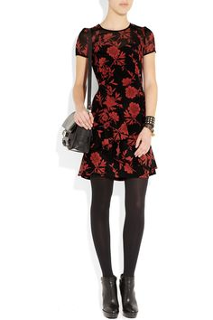 DKNY | Jocelyn printed stretch silk crepe de chine dress
