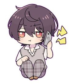 Anime Chibi, Chibi Boy, Kawaii Chibi, Cute Chibi, Manga Anime, Anime Art, Cute Anime Boy, Anime Guys, Anime Poses
