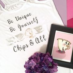 Be Unique, Be Yourself - Chips And All!