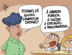 Sorriso Pensante-Ivan Cabral - charges e cartuns: Charge do dia: drogras