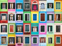 Burano, Italy. Portuguese photographer André Vincente Gonçalves.
