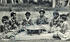 """Ancient Kava Ceremony, Fiji""."