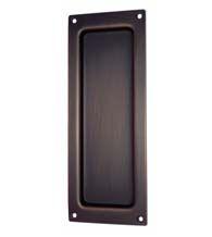 Charleston Pocket Door Flush Pull, Baldwin 8571