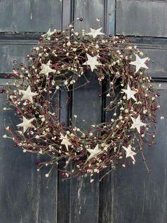Weihnachtskranz basteln - 20 Ideen - Weihnachten 2017 - basteln für Weihnachten - DIY Dekoideen Weihnachten - Türkranz selber basteln - DIY Weihnachtsdeko - Bastelidee Weihnachten