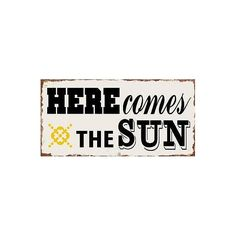 Here comes the sun - #Magnet