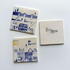 Ceramic tiles / Polly Fern