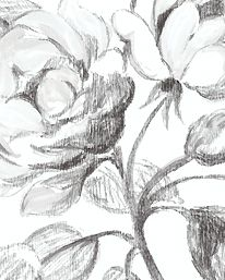 Tapet Watelet Black & White från Designers Guild