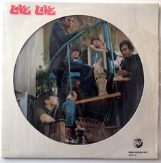 Love - Live Picture Disc LP Vinyl Record Album, Rhino Records - RNDF 251, 1982, Original Pressing