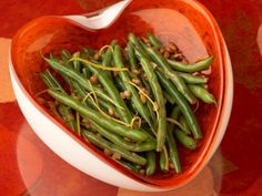 Lemon-Butter Green Beans with Pine nuts
