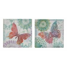 Canvas Art Set of 2 Canvas | Overstock.com Shopping - The Best Deals on Gallery Wrapped Canvas