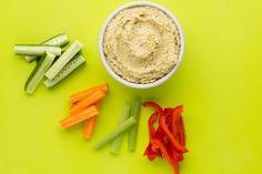 Veggie Sticks with Homemade Hummus – Fresh Start