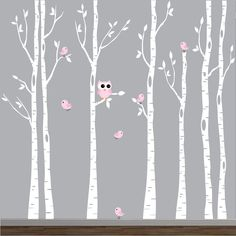 Nursery Wall Decals Baby Birch Vinyl Wall Decals by Modernwalls, $129.00