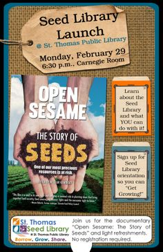 The Seed Library Social Network - info on seed libraries and their inventory across the country