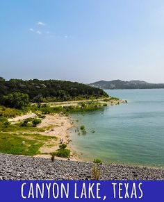 Canyon Lake is one of the most gorgeous spots in central Texas! Hiking, beaching, boating - you can do it all! Click through to read about our day trip and our takeaways! Canyon Lake Texas, Texas Vacations, Central Texas, Galveston, Day Trip, Boating, Us Travel, Road Trips, Fun Activities