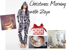 """""""Christmas Morning with Zayn"""" by its-krissy ❤ liked on Polyvore"""