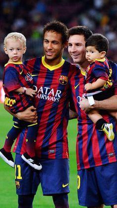 Messi and neymars children