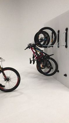 Steadyrack has revolutionised bicycle storage with a vertical wall bike rack that's safe, easy to use, & maximises garage & shed storage space. Garage Organization Tips, Diy Garage Storage, Garden Tool Storage, Shed Storage, Bicycle Storage Garage, Bike Storage On Wall, Garage Ideas, Storing Bikes In Garage, Bike Racks For Garage