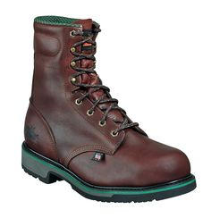 Thorogood Mens SD Brown Leather Classics Safety Toe 8in Sport Boot