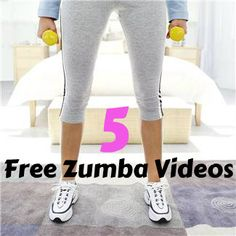 5 amazing free Zumba videos that you can do online.