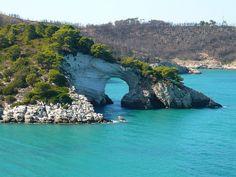 Sea Bridge, Gargano, Italy