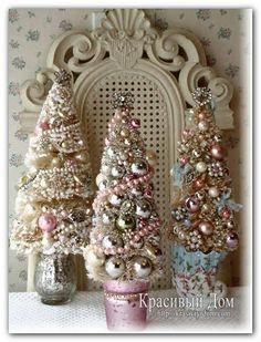 Маленькие новогодние елочки