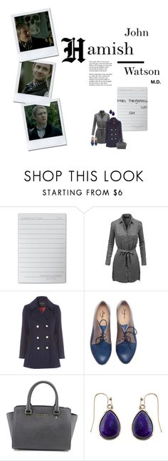 """""""H for Hamish"""" by audreyh88 ❤ liked on Polyvore featuring Tiffany & Co., LE3NO, MICHAEL Michael Kors, Accessorize, sherlock, babynames, hamish and atozofsherlock"""