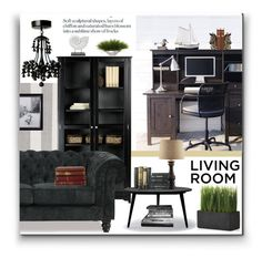 """""""Book it"""" by ceci-alva ❤ liked on Polyvore featuring interior, interiors, interior design, home, home decor, interior decorating, Surya, Universal Lighting and Decor, Crate and Barrel and Dot & Bo"""
