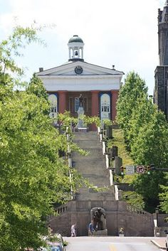 After my visit to Lynchburg, these steps became an important part of my novel, My Soul to Keep.  #history #Lynchburg #novel Read all about it.