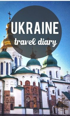 Ukraine is a stunning country, full of beautiful buildings, friendly people and delicious dumplings. We'll be back.