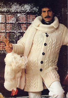 knitting 70s moustache male aran | Flickr - Photo Sharing!