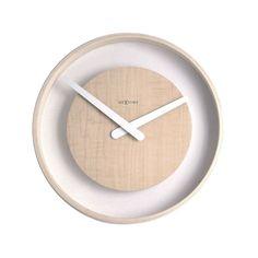 Natural Moat Wall Clock | dotandbo.com