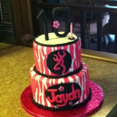 Browning camo cake Cakes  n Creations
