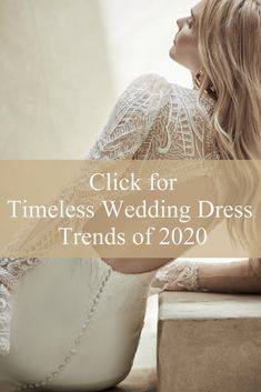 The top wedding dress trends of 2020 are actually timeless! Click to see stunning new styles by #MaggieSottero   #timelessweddingdress #weddingdresstrends  #2020weddingdresses #brides