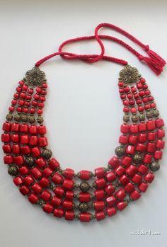 How to make a basic wire chain necklace Coral Jewelry, Beaded Jewelry, Jewelry Necklaces, Handmade Jewelry, Jewellery, Tribal Necklace, Tribal Jewelry, Boys Bracelets, Women Jewelry