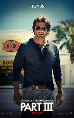 "Bradley Cooper en el póster individual para ""The Hangover III"""